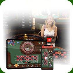 Roulette avec croupier en direct 5 meilleures tables